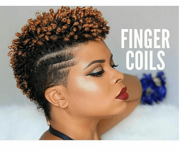 Fantastic Finger Coils on a Tapered Cut