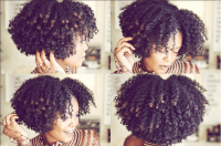 Bomb Braidout On Natural Hair