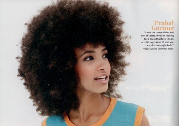 Natural Hair Instyle