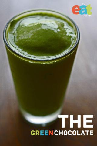 "Green Smoothie ""Green Chocolate"""
