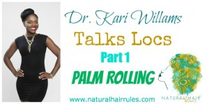 Starting Locs with Palm Rolling Method