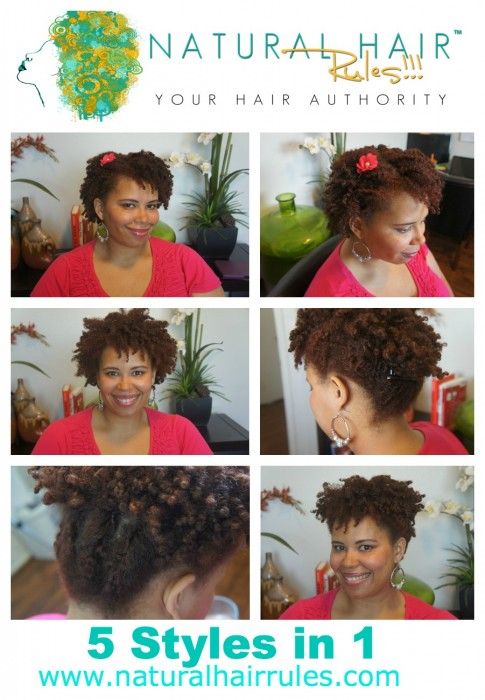 Natural Hairstyles For Medium Length Hair : Twist out: natural hairstyle that gives you 5 styles in 1