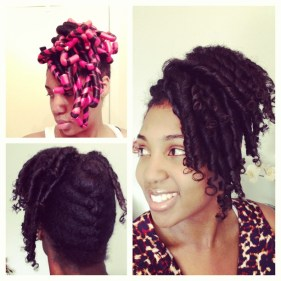 Astonishing How To Flexi Rods On Natural Hair Natural Hair Rules Hairstyles For Men Maxibearus