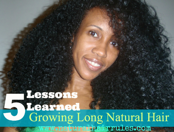 5 Things You'll Learn From Growing Long Hair