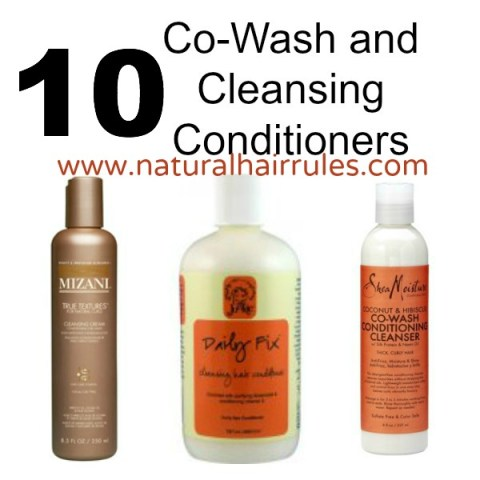 10 Co-Wash and Cleansing Conditioners