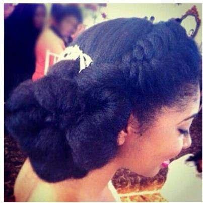 3 Inspirational Wedding Natural Hairstyles Natural Hair Rules