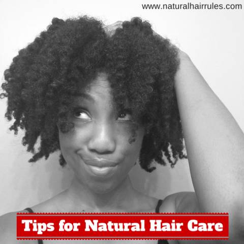Three Important Tips for Natural Hair Care