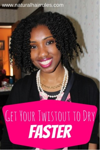 5 Tips To Get Your Natural Hair To Dry Faster
