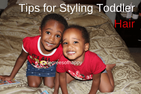 5 Tips for Styling Toddler Hair