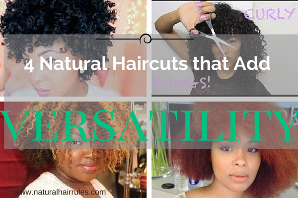 4 Natural Haircuts That Add Versatility | Natural Hair