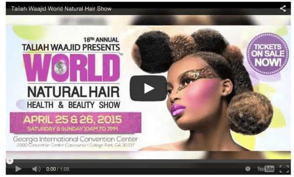 2015 Taliah Waajid World Natural Hair Show