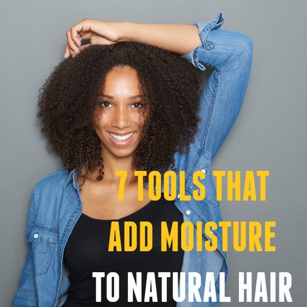 Add Moisture to Natural Hair