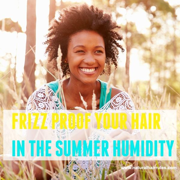 prevent frizz