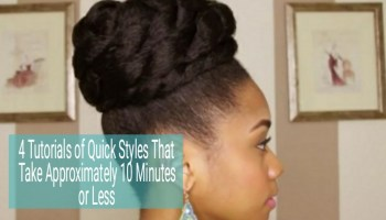 Outstanding 3 Buns For Any Length Without Added Hair Short Hairstyles Gunalazisus