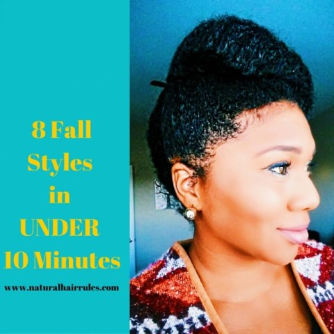 8 Fall Styles in Under 10 minutes