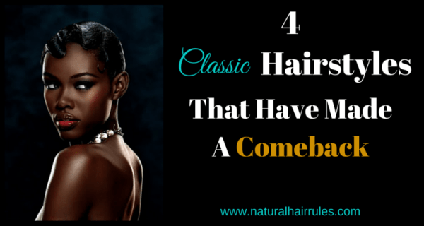 Classic Natural Hairstyle