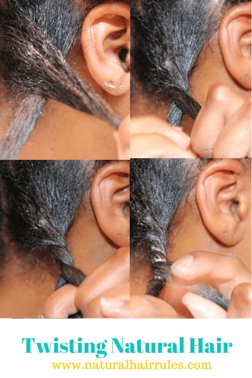 Twisting Natural Hair