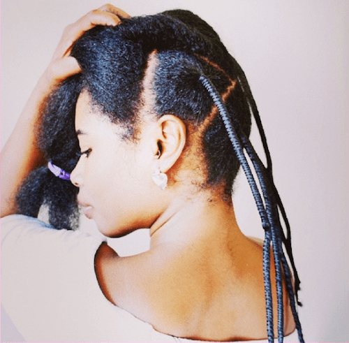 African threading to straighten natural hair