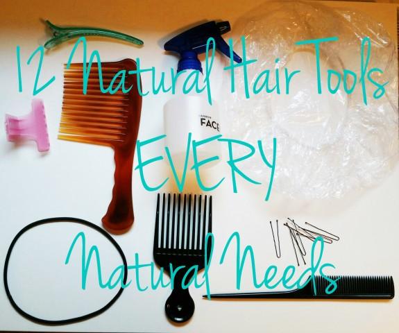 12 Natural Hair Tools