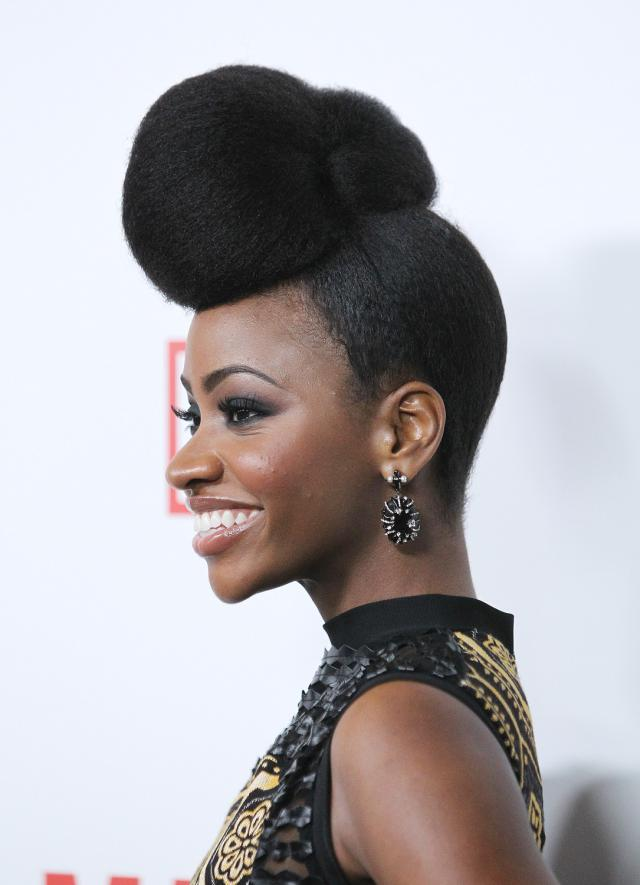 teyonah-parris-red-carpet-hair-mad-men
