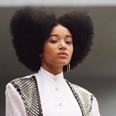 Amandla Sternberg- %22Constant Battle Loving My Hair%22-2