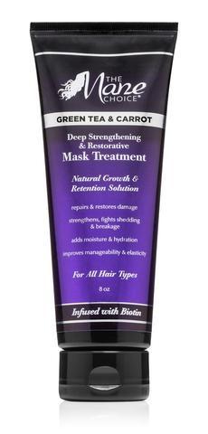 Mane Choice Green Tea & Carrot Deep Strengthening & Restorative Mask Treatment Best Deep Conditioner for Natural Hair
