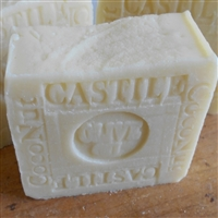 Castile Olive  Organic Coconut Soap Bar Unscented Face and Body  All Natural Skin Care Soap
