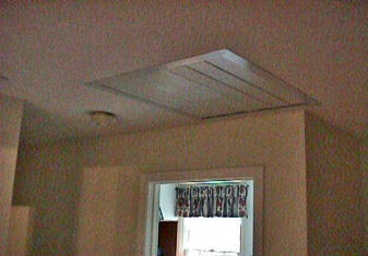 Ceiling attic fan lightneasy install a whole house exhaust fan yourself mozeypictures Gallery