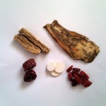 Herbal soup mix to benefit Qi and Blood