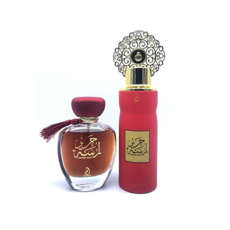 Coffret Cadeau Lamsat Harir My Perfumes Eau de Parfum 100 ml + Déodorant 200 ml