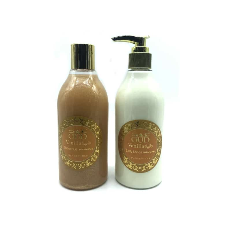 Lotion & Gel Douche Parfumé Oud - Vanille 300ml - My Perfumes