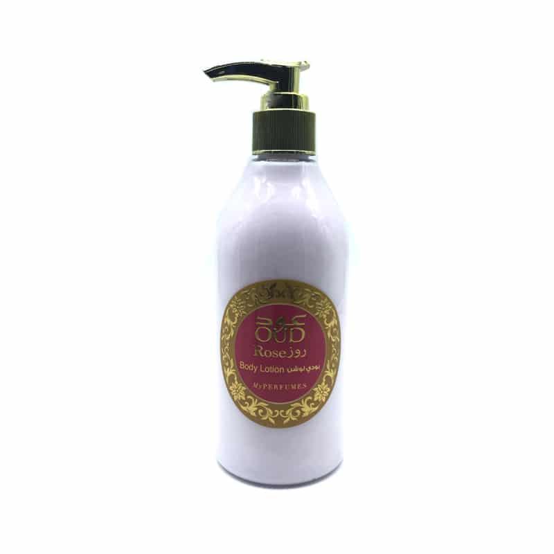 Lotion Lait Parfumé Oud & Rose 300ml - My Perfumes