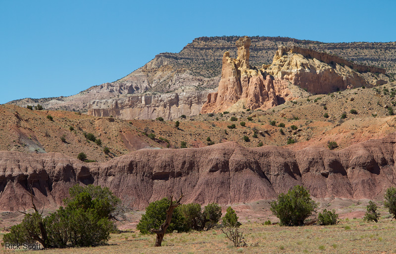 Photo  Ghost Ranch Abiquiu New Mexico