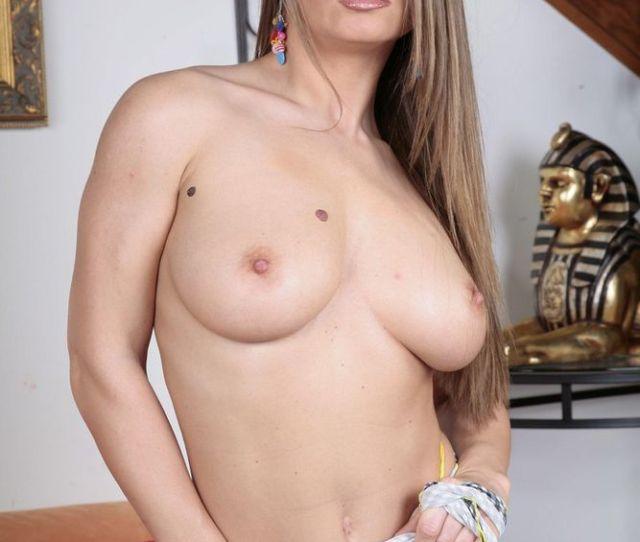 Nice Natural Tits Porn Babe With Long Hair