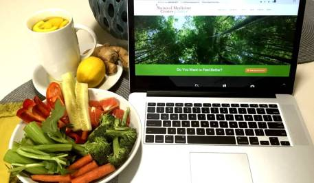 Eat Healthy While Working Munch On Veggies and Fruit Eating Real Whole Raw Food for Health Vitality and Wellness Natural Medicine Center Lakeland Central Florida