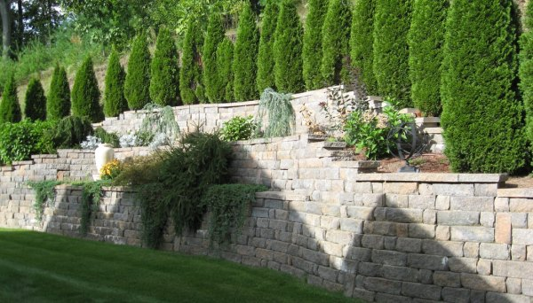 lawn mowing - landscaping- hardscape