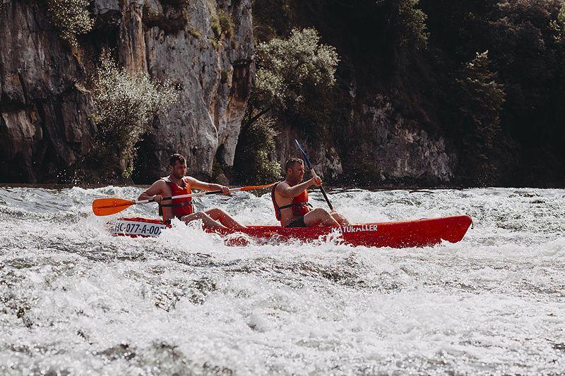 descenso canoa rio nalon
