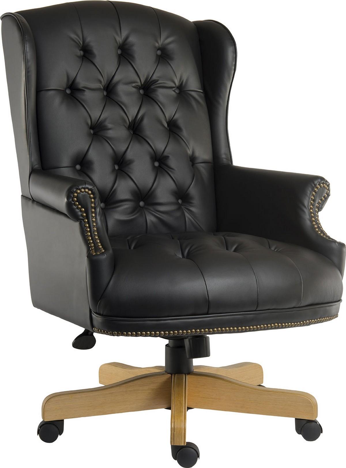 Chairman Executive Black Office Chair