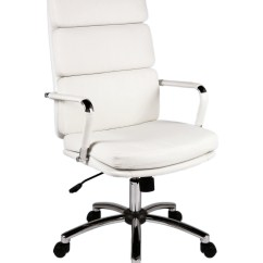 Stylish Office Chairs Uk Salon Pedicure Deco White Executive Chair