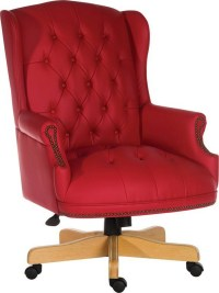 Chairman Executive Red Office Chair