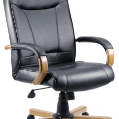 Wooden Executive Office Chairs Swivel Chair Ikea Kingston Light Wood