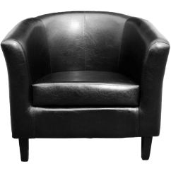 Black Leather Reception Chairs Chair King Sam Houston Tub Community