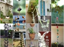 How To Make Your Own DIY Rain Chain + 34 Design Ideas To ...