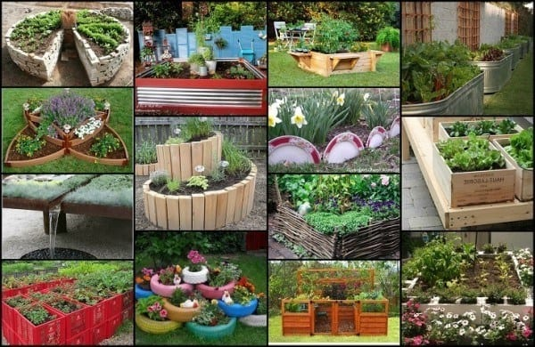 Unique & Fun Raised Garden Bed Ideas
