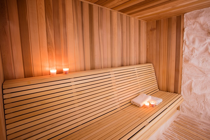 chambre Sel pour halotherapy