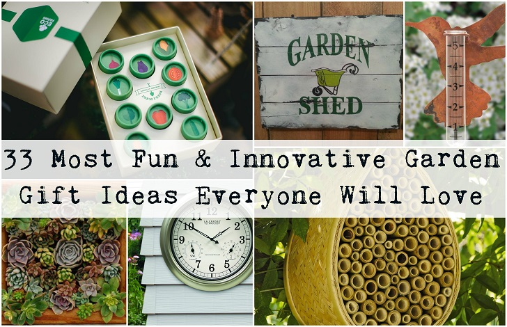 33 Most Fun & Innovative Garden Gift Ideas Every Gardener Will Love