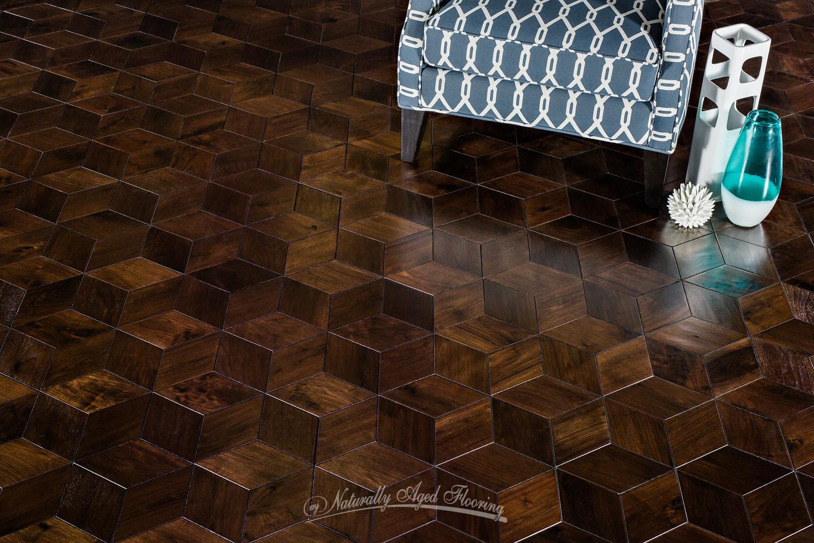 Custom Flooring  Naturally Aged Flooring