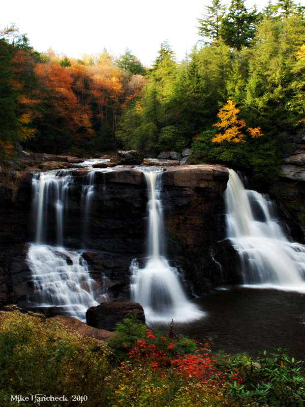 Blackwater Falls State Park a West Virginia State Park located near Elkins