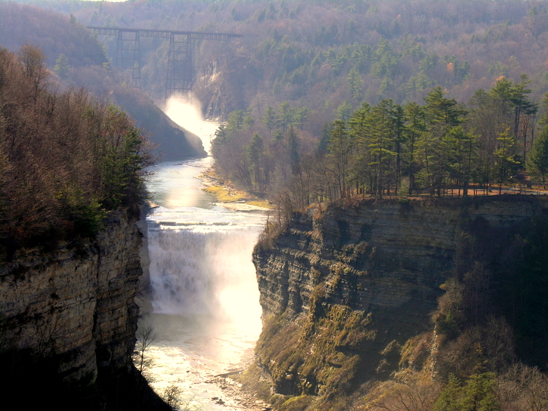 Letchworth State Park a New York State Park located near