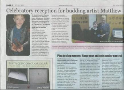 Matthew williams print media